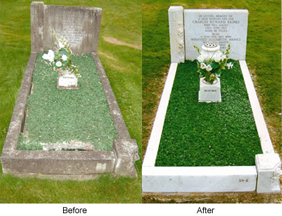 Curbed Before and After Memorials